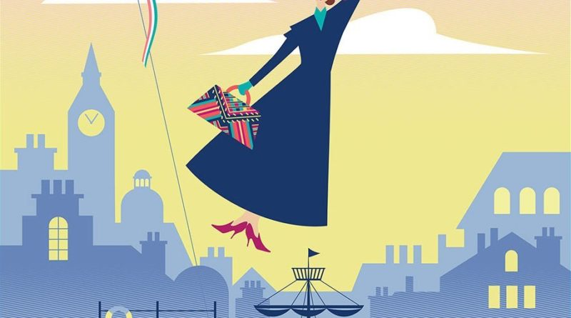 Attrazione dedicata a Mary Poppins a Epcot