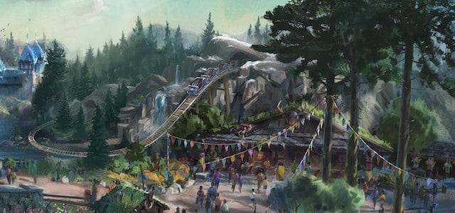 Frozen Roller Coaster