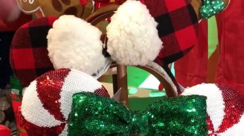 orecchie di Natale di Minnie