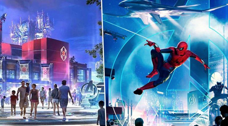 Campus Avengers Disney California Adventure