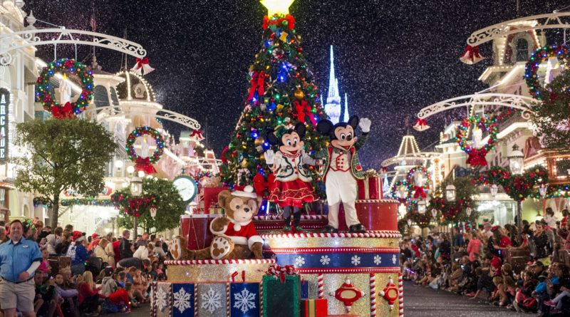 Parata di Natale a Walt Disney World