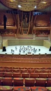 Walt Disney Concert Hall Auditorium