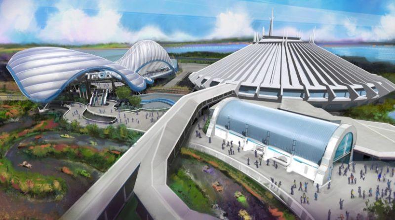 Tron Rollercoaster Concept a Walt Disney World