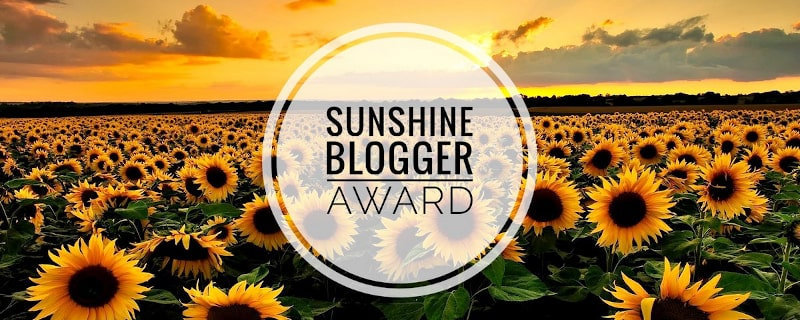 sunshine blogger award ioviaggiocontopolino