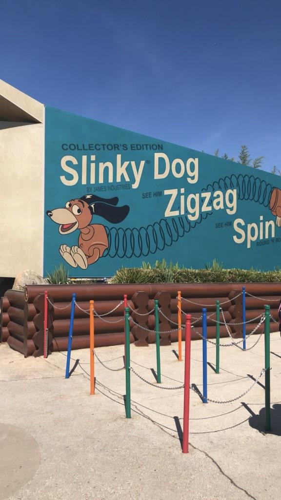 Toy Story Land Slink Dog