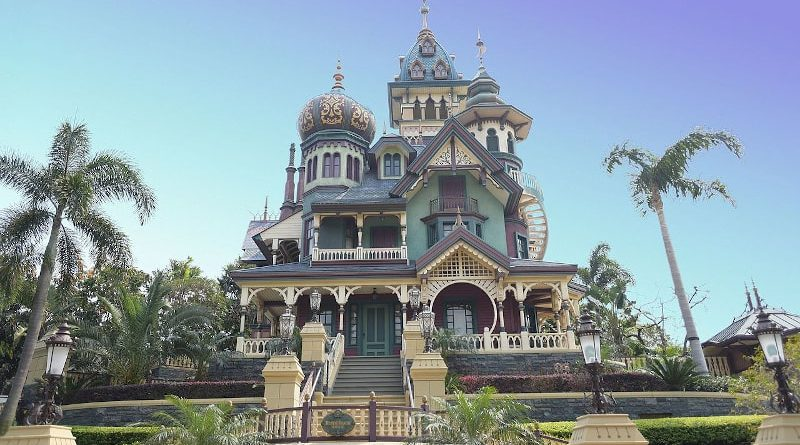 Mystic Manor a Hong Kong Disneyland