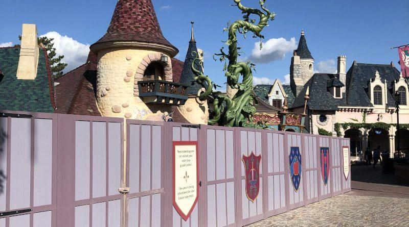 Disneyland Paris attrazioni chiuse