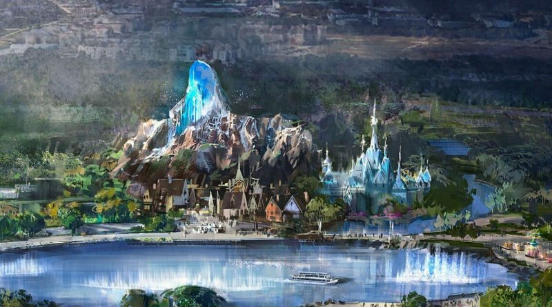 Frozen Land a Disneyland Paris: concept