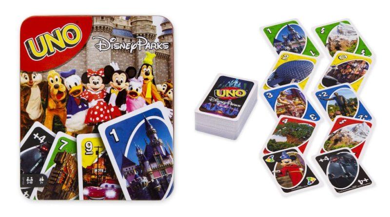 Carte Uno Disney Parks