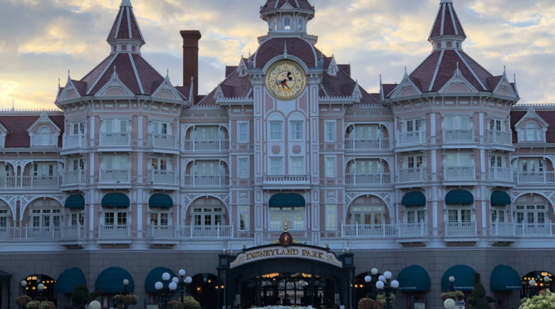 Hotel dentro Disneyland Paris