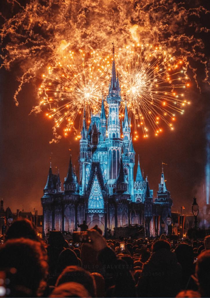 Fuochi d'artificio a Walt Disney World