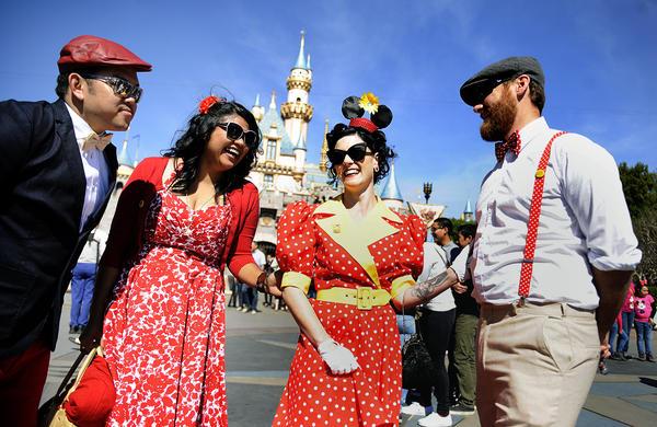 Dapper Day a Disneyland