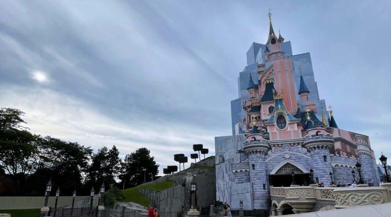 Disneyland Paris castello 2021