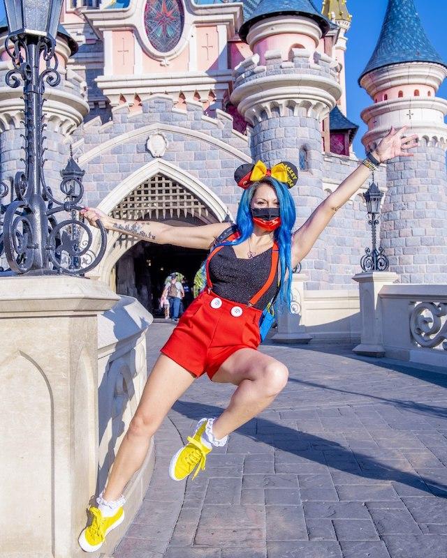 Fotografare Castello Disneyland Paris