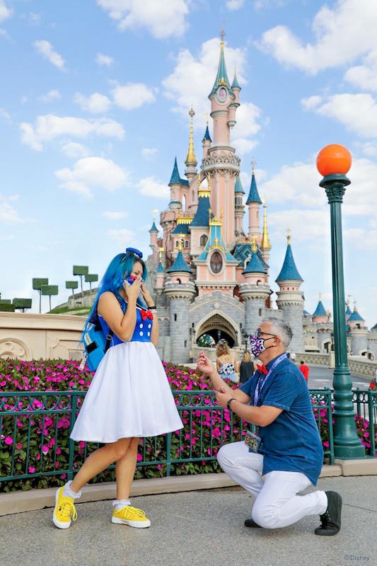 Proposta matrimonio Disneyland Paris